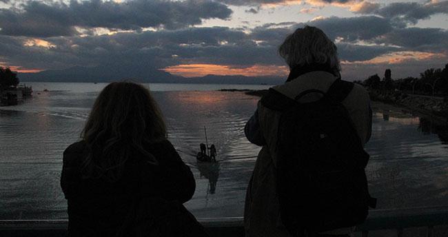 Beyşehir Gölü yabancı fotoğrafçıları ağırladı