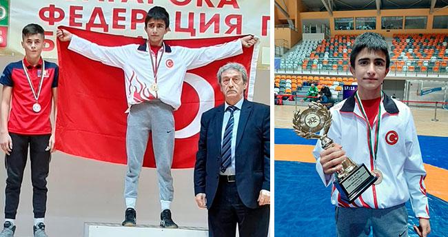 Selçuklu'dan Balkan Şampiyonasında altın madalya