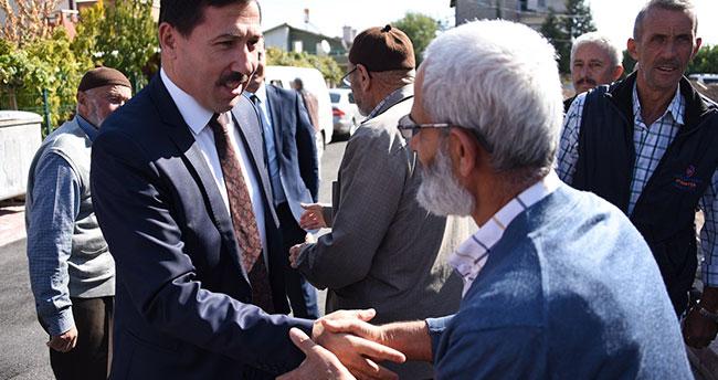 Başkan Kılca, Çatalhüyük Mahallesinde vatandaşlarla buluştu