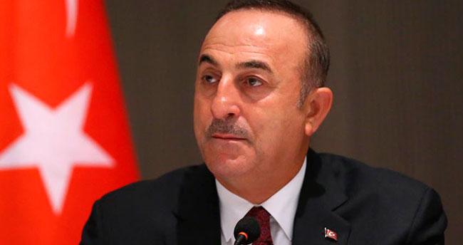 Bakan Çavuşoğlu: Suriye'ye harekat uluslararası hukuktan kaynaklanan hakkımızdır