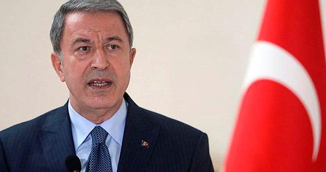 Milli Savunma Bakanı Akar'dan harekat açıklaması