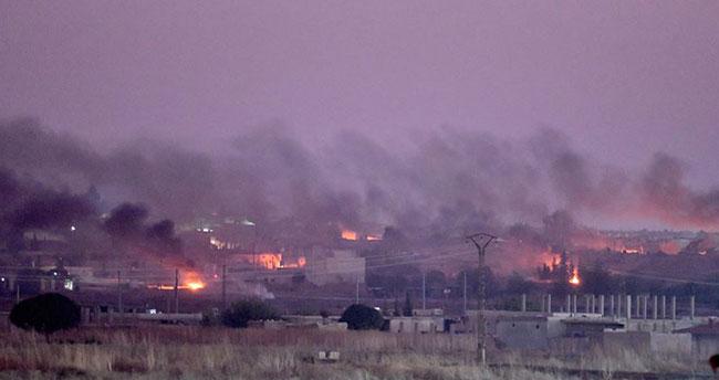 Barış Pınarı Harekatı'nda 180'den fazla hedef vuruldu