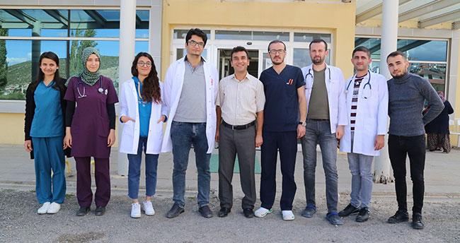 Hadim Devlet Hastanesi'ne atanan doktorlar göreve başladı