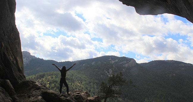 Konya'daki Çamlık Mağaraları doğa meraklılarını bekliyor