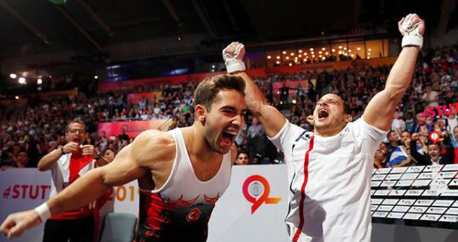 İbrahim Çolak cimnastikte dünya şampiyonluğuna ulaşan ilk Türk sporcu oldu