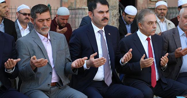 Bakan Kurum, Konyalı şehit Yunus Mermer'in ailesini ziyaret etti