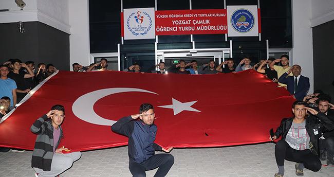 Üniversite öğrencilerinden Barış Pınarı Harekatı'na destek