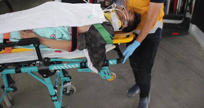Konya'da tarlada darp edilmiş halde bulunan kişi tedavi altına alındı