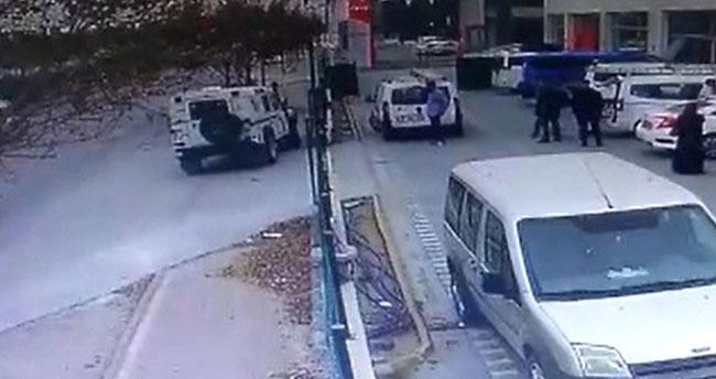Konya'da dehşet anları! Trafikte tartıştığı gençlerin elektrikli bisikletini ciple ezdi