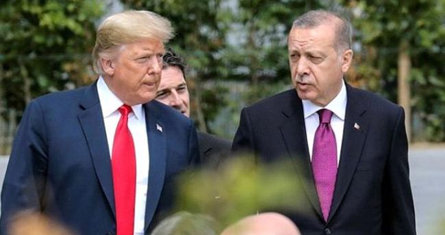Erdoğan'dan Trump ile yaptığı görüşmeye ilişkin açıklama: Güvenli bölge hakkında fikir alış verişinde bulunduk