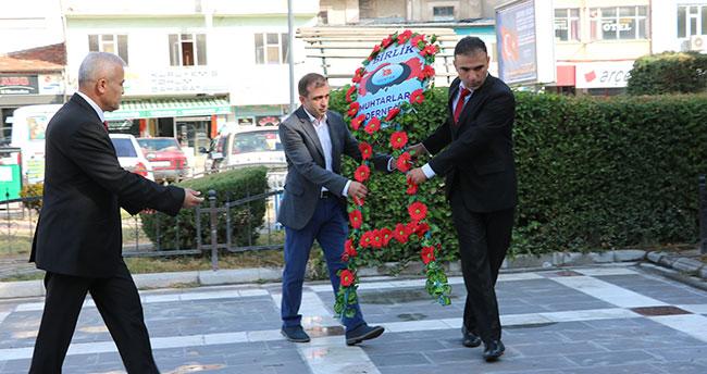 Konya Beyşehir'de Muhtarlar Günü kutlandı