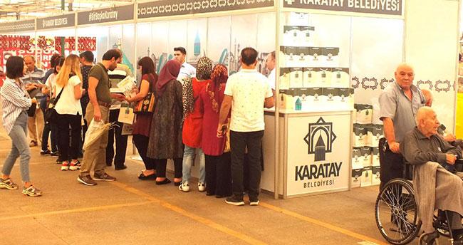 Konya Günleri'nde Karatay Belediyesi standına yoğun ilgi