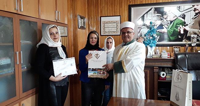 Moldova ve Romanyadan gelip Konya'da Müslüman oldular