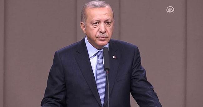 """Erdoğan: """"İzlerini sürüyoruz"""""""