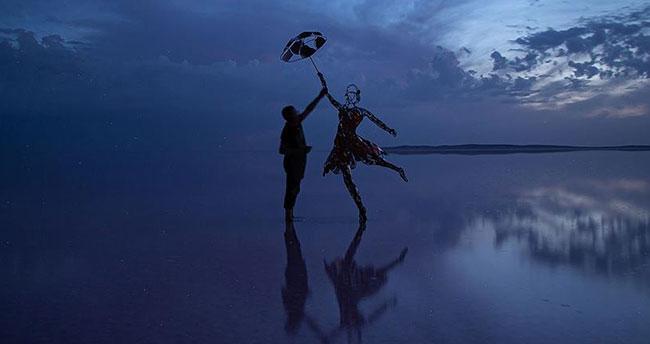 Tuz Gölü'nden İstanbul'a 'kadının gücü' heykeli