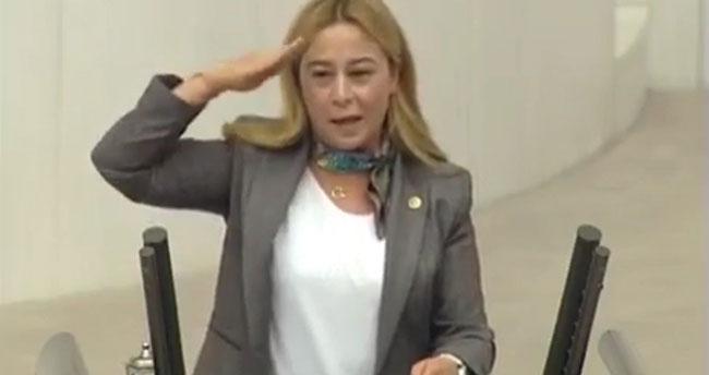 MHP Konya Milletvekili Kara'dan TBMM'de asker selamı