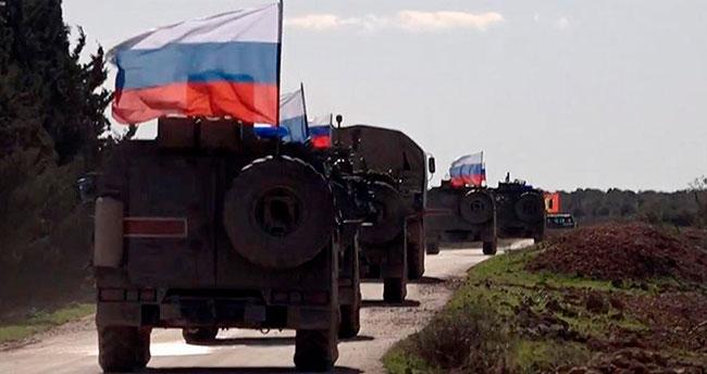 Rus polisi Suriye'de