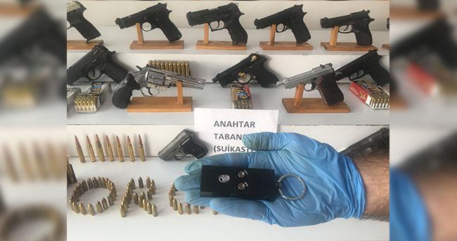 Konya'da dahil 10 ilde silah kaçakçılığından 83 kişi gözaltına alındı
