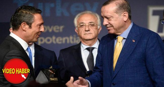 Cumhurbaşkanı Erdoğan, Fenerbahçe Divan Kurulu'nda