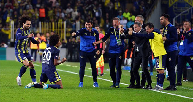 Gustavo Fenerbahçe formasıyla ilk golünü attı