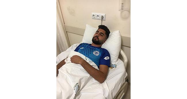 Konya'da yaşandı! Maçta dili boğazına kaçan futbolcu ölümden döndü
