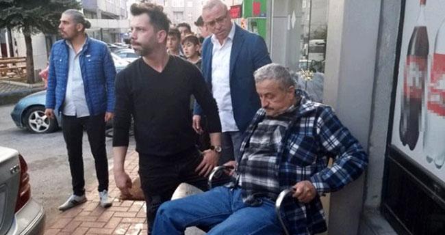 Bacaklarından vuruldu, sandalyeye oturup ambulansı bekledi! Soğukkanlılığıyla dikkat çekti
