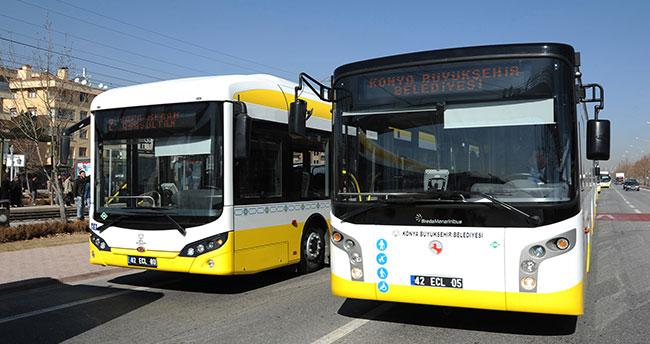 Konya Büyükşehir'den yeni otobüs hattı! Yarın başlıyor