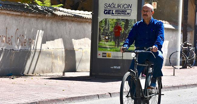 Konya Milletvekili Sorgun'un 54 yıllık bisiklet sevdası…