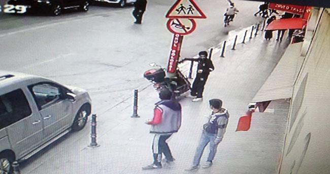 Konya'da elektrikli motosiklet çalan şüpheli çocuk yakalandı