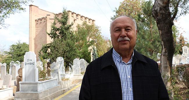 Konya'nın Kız Kulesi dikkatleri üzerine çekiyor