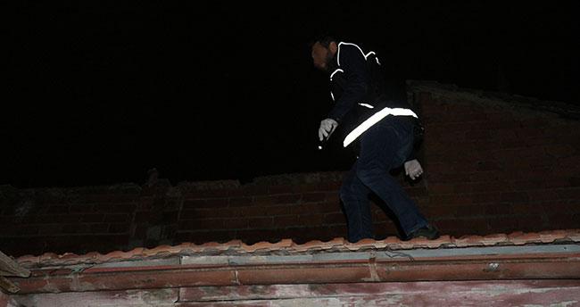 Konya'da drone destekli uyuşturucu operasyonu! Balkondan atlayıp kaçmaya çalıştı