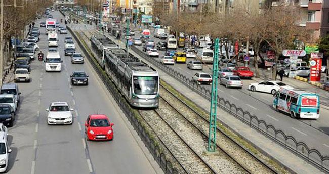 Konya'da taşıt sayısı arttı! 727 bin 504 adede ulaştı