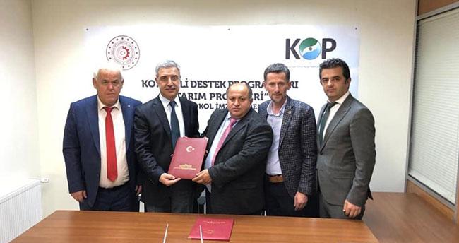 Bozkır ilçesi, KOP'un destekleyeceği 2 projeden 700 bin lira destekleme alacak