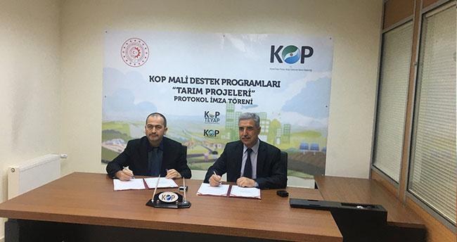 """Beyşehir'de """"KOP seralarında üretim, tarımdaki bereketim"""" projesi"""