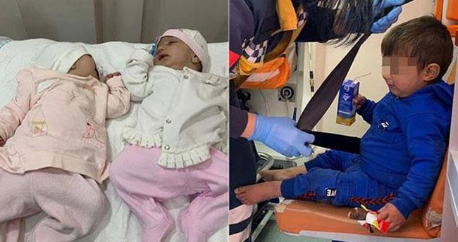 Konya'da 3 çocuğunu sokağa terk eden Suriyeli aile bulundu!