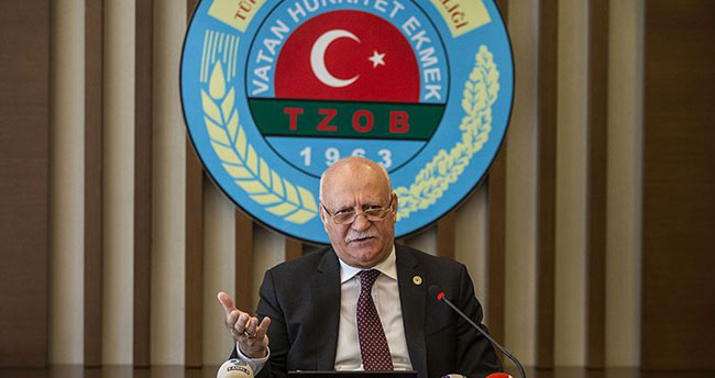 TZOB Başkanı Bayraktar: Ispanağın suçu yok