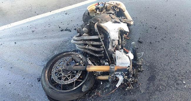 Konya'da iki motosikletin karıştığı kazada 1 kişi öldü