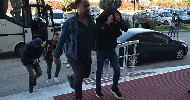 Konya'daki uyuşturucu operasyonunda 7 tutuklama