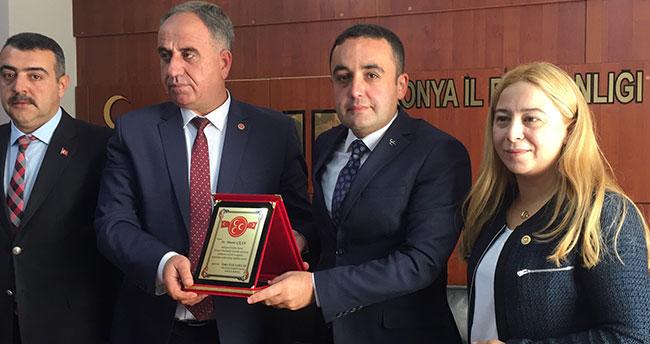 MHP Konya'da devir teslim töreni