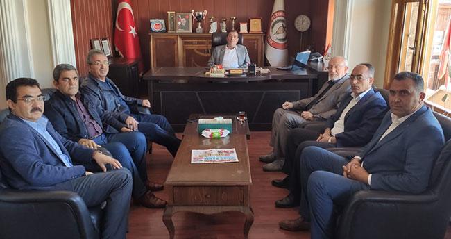 Yeni Meram'dan Altınekin Belediyesine ziyaret