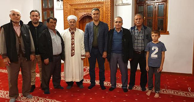 Derebucak'ta tarihi Geydeş Camisi'nin restoresi tamamlandı