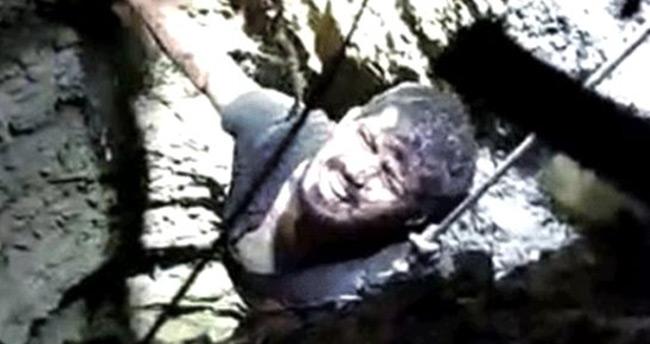 15 metrelik su kuyusuna düşen adam yaşadıklarını anlattı: Öleceğimi sandım