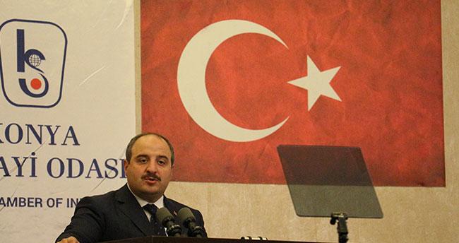 Bakan Varank Konya'da sanayicilerle bir araya geldi
