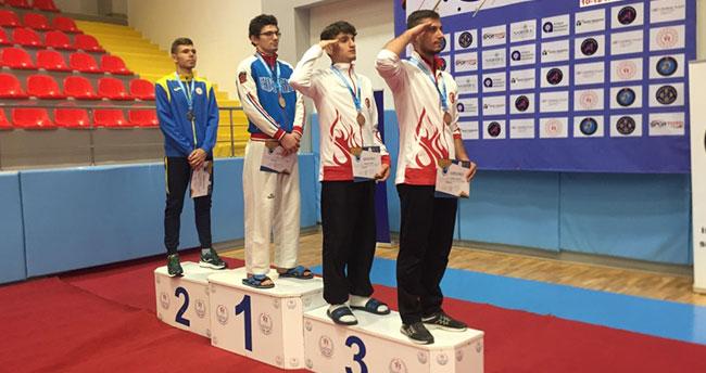 Batuhan Şimşek'ten Avrupa Şampiyonasında bronz madalya