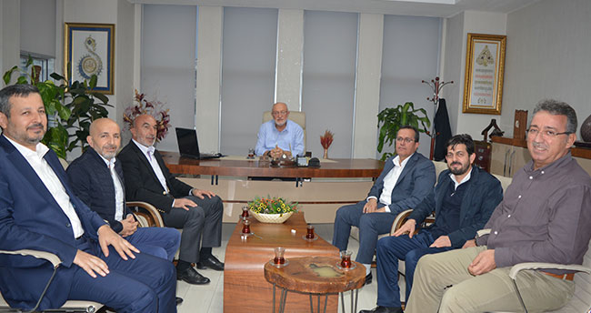 AK Parti Konya İl Yönetiminden Yeni Meram' a ziyaret