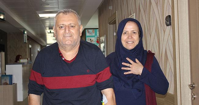 47 yıldır yürüyemiyordu, Konya'da sağlığına kavuştu