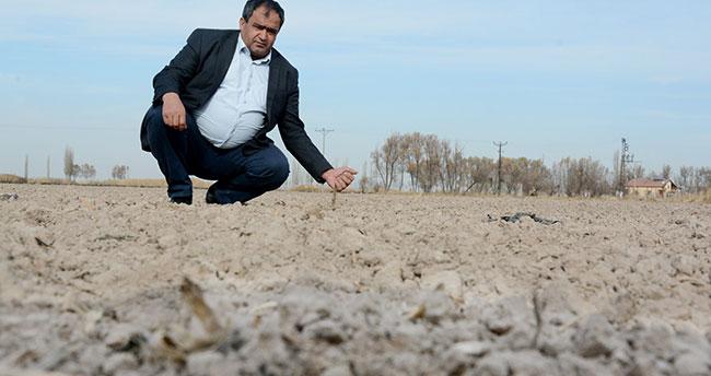 Aksaray tarımında kuraklık tehlikesi