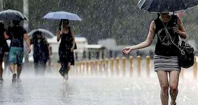Meteorolojiden çok sayıda kente sağanak yağış uyarısı