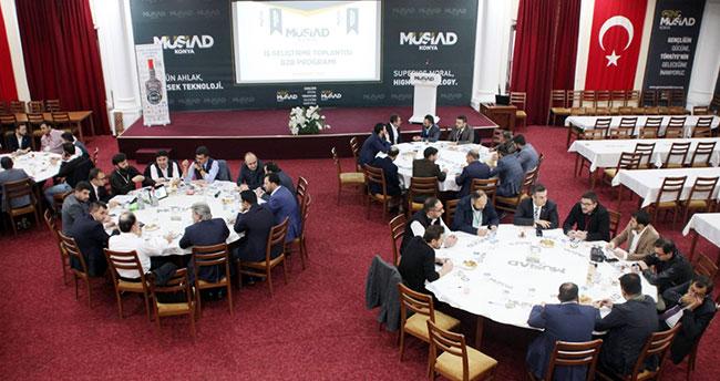 MÜSİAD Konya Şubesi'nde İş Geliştirme Toplantısı düzenlendi