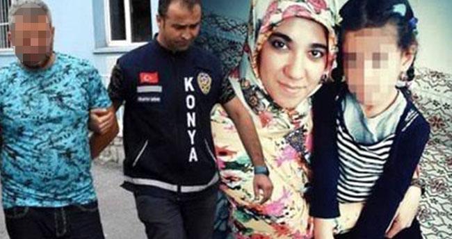 Konya'da eşini 46 bıçak darbesiyle çocuklarının gözü önünde öldürmüştü! Hakim karşısına çıktı